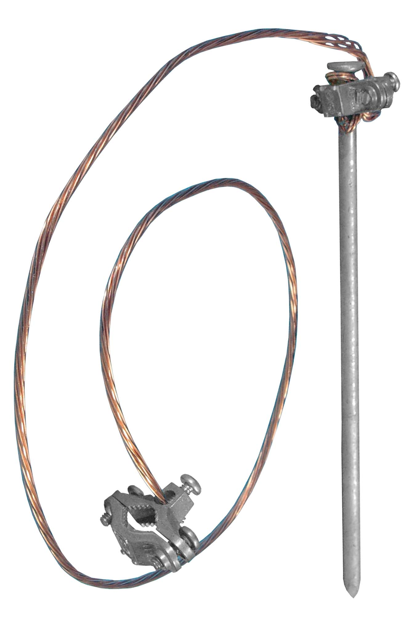 Flagpole anchoring hardware from Flag Outlet