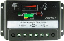 PWM Controller for solar powered windsocks